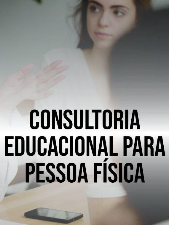 Consultoria educacional para pessoa física